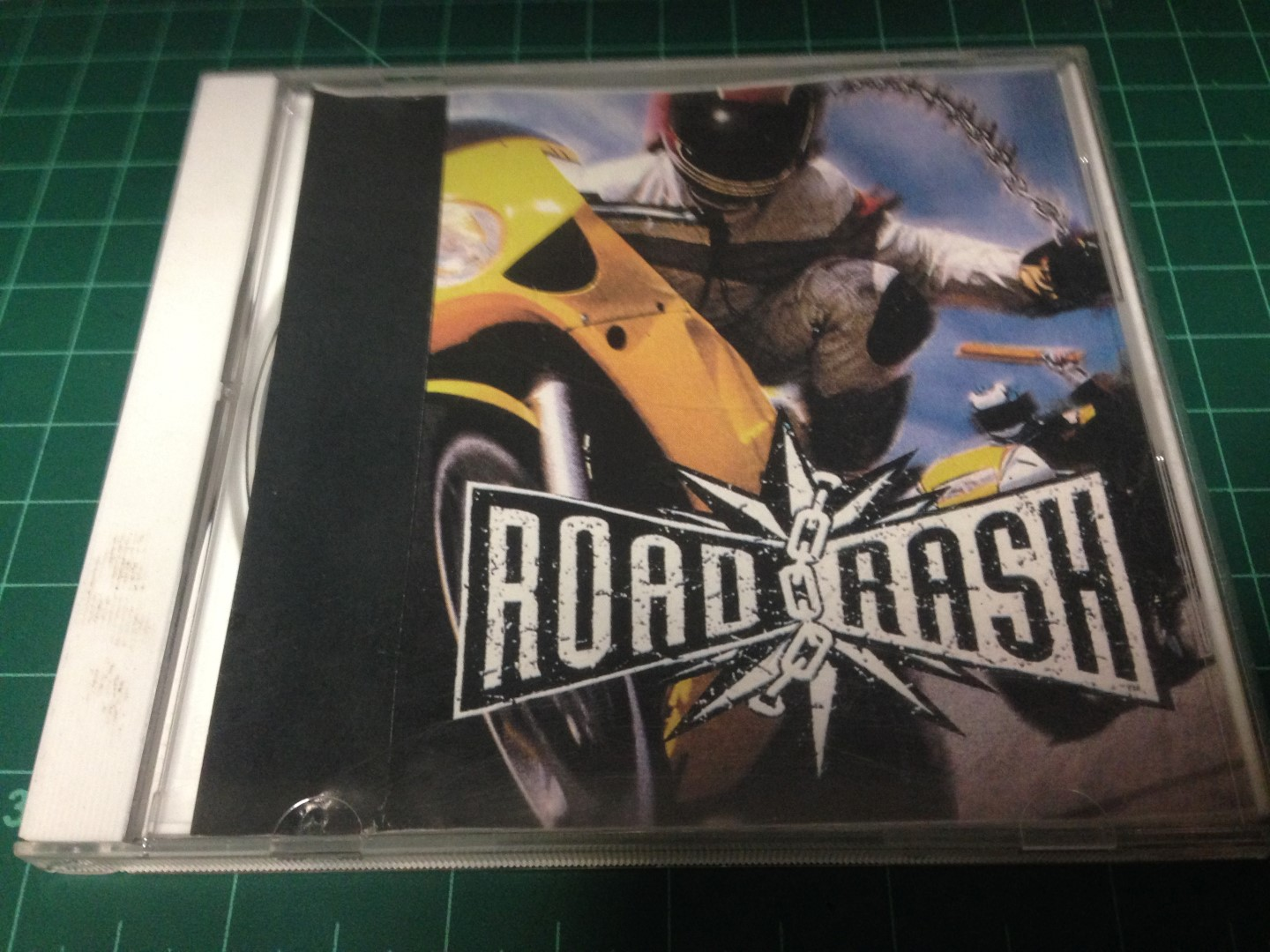 Rare ps1 developer copy of Road Rash