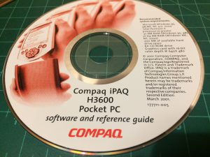Compaq iPAQ H3600 Pocket PC Software