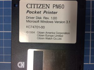 Citizien PN60 Floppy