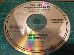 Toshiba Configuration Builder